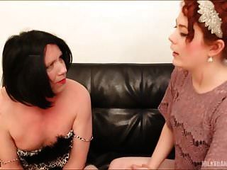 Milked And Busted Goddess Megan And Sissy