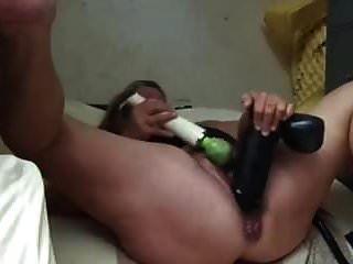 Grandma Smashes Pussy