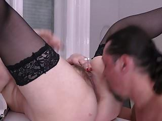 Hot Mature Mothers Takes Young Cocks