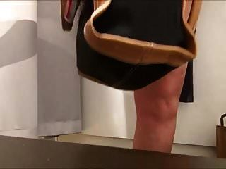 Piss In Bag In Store Changing Room