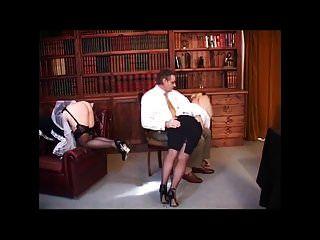 British Maid And Mistress Spanking