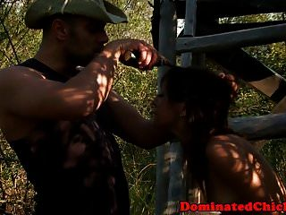 Dominated Beauty Anally Screwed By Maledom