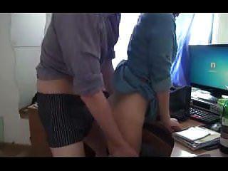 Bending Her Over My Desk !