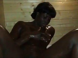 Black Panther In Sauna