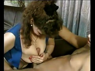 Hairy Chick Fucks On Sofa
