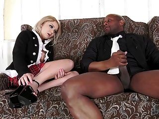 Cute Teen Fucked In Ass By Big Black Rod