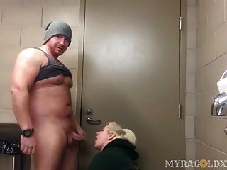 Fucking In A Public Bathroom At A Truck Stop