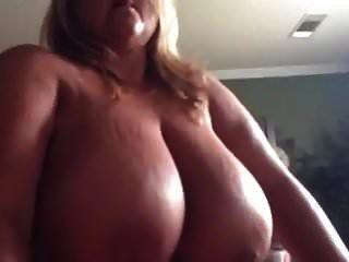 Blonde Bbw With Massive Golden Tits