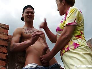Busty Blonde Cougar Find A Bad Teen Guy To Fuck