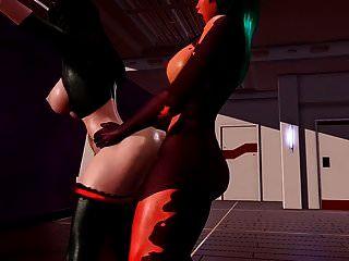 Futa X Female - Anal Workout (redapple2)