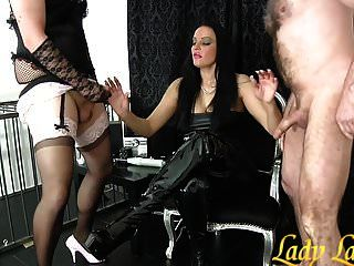 Wank Contest Long French Nails