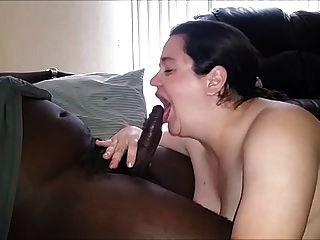 Mature Sucks N Fucks Black Cock