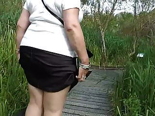 Upskirt In The Country Park (part One)