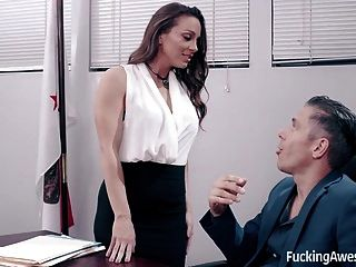 Secretary Abigail Mac Fucks Her Boss