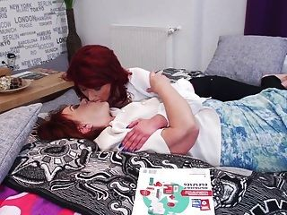 Taboo Family Sex With Granny And Lesbian Girl