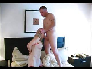 Beautiful Blonde Granny Having Anal Sex
