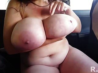 Super-sized Boobs Hanging Loose At Play