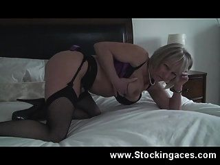British Milf Jane Bond Fucks Pussy