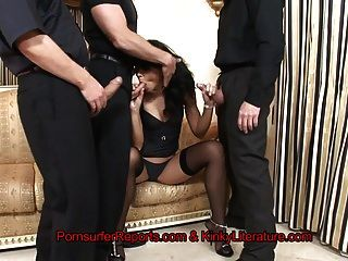 Long Legged Suzie Diamond Gets Anally Gangbanged