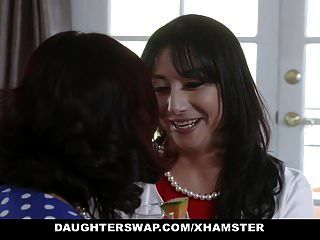 Daughterswap - Two Hot Moms Share Their Teen Bi Daughters