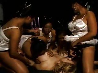 Milf Maria Lesbian Strapon Gangbang