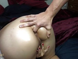 Shaved Asian Girl Lost Anal Virginity