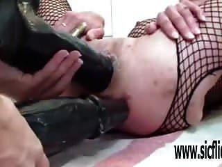 Huge Double Dildo Fucking Penetrations