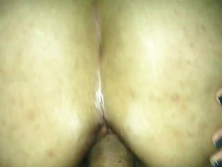Latina Wife Taking It In The Ass