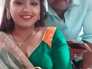 Indian Girl Doing Selfies With Boyfriend.mp4