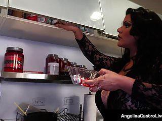 Hot Bbw Angelina Castro Shares Bf