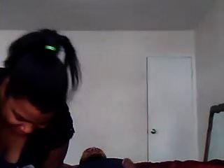 Fat Ebony Doll Riding Her Boyfriend