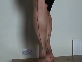 Solo Stockings Show 5
