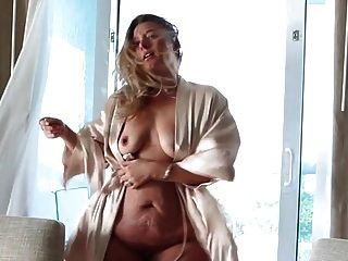 Tanned Blonde Pawg Strips And Shakes Big Fat Ass