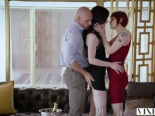 Vixen Adventurous Beauty Has Passionate Sex With A Power Cou