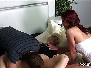German Boy May Fuck His Step Sister And Friend In 3some