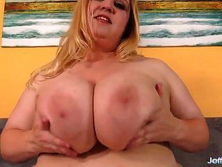 Big Boob Plumper Rubs Her Pussy & Takes A Fucking