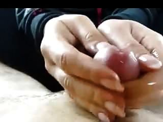 Handjob With Long Nails