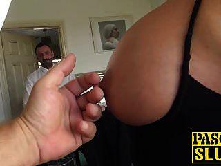 Nasty Milf With Big Tits And Ass Solo Masturbates Hard