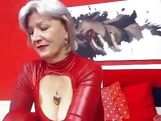 Granny Big Tits Masturbation Webcam