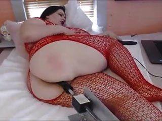 Fatty Buttfucked By Machine