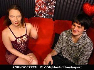 Deutschland Report - Mature German Fucked Hard By Young Boy