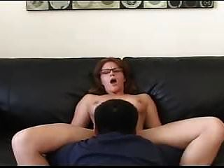 Amateur - Hot Redhead & Blond Ffm Threesome With Lickup