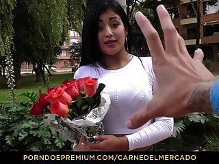 Carne Del Mercado - Busty Colombian Babe Gets Banged Hard