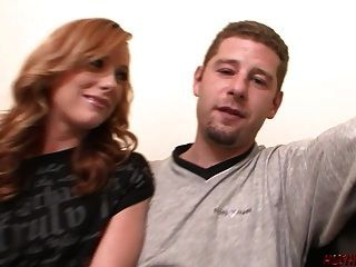 Dani Jensen Stretched By Thick Cock