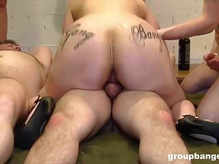 3 Of The Best Hardcore Gang Bang Videos Ever