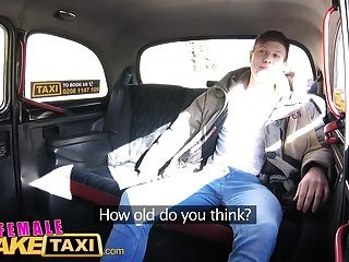 Female Fake Taxi Innocent Young Tourist Gets Seduced