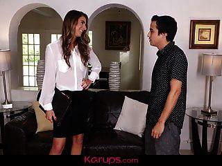 Karups - Tall Milf Tara Ashley Fucks Client