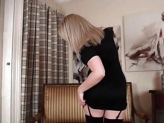 Hot Mature In Black Stockings