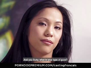 Casting Francais - Passionate Audition Fuck With Asian Babe