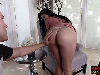 Horny White Guy Plows Cute And Slender Asian Babe